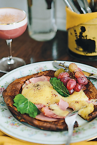 Dutch Baby Cornmeal Pancake at Milktooth