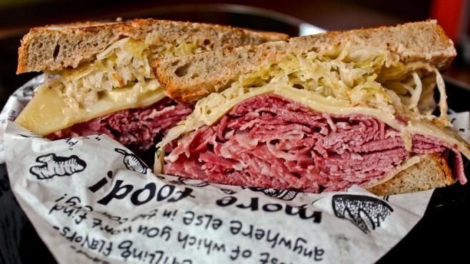zingerman's reuben sandwich